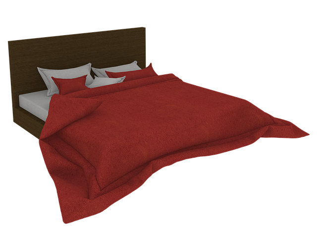 přehoz na posteli