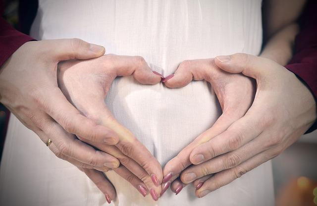 srdce z prstů