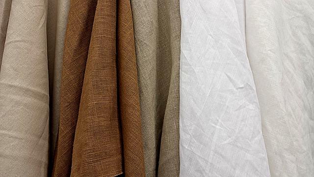 přírodní tkaniny